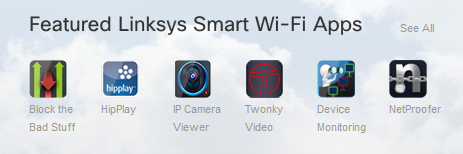 Linksys Smart Wi Fi Apps