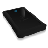 """RAIDSONIC IB-233U3-B :: External enclosure for 2.5"""" SATA HDD/SSD with USB 3.0 interface and silicone protection sleeve"""
