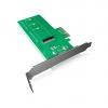 RAIDSONIC IB-PCI208 :: Адаптер M.2 към PCIe, до 80mm