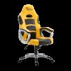 WHITE SHARK SPEED MASTER :: Геймърски стол, жълт/черен
