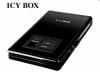 """Raidsonic IB-225StU-FP :: Външна кутия за 2.5"""" SATA HDD, USB 2.0 интерфейс, достъп с пръстов отпечатък"""