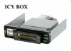 """Raidsonic IB-801-B :: Четец за карти с докинг станция за 3.5"""" гнездо, черен цвят"""