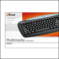 Trust 14428 :: Клавиатура Multimedia Keyboard, KB-1150