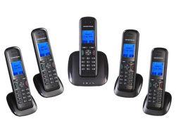 GRANDSTREAM DP715 :: DECT безжичен SIP телефон, базова станция + слушалка, до 5 SIP линии