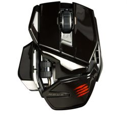 MadCatz M.O.U.S. 9-GLOSS BLACK :: Безжична геймърска мишка M.O.U.S. 9, Bluetooth, Gloss Black