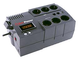 CyberPower BR850ELCD :: BRICs Series UPS устройство, 850VA, с LCD дисплей
