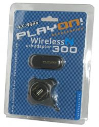 A.C. Ryan ACR-WN1000 :: 300 Mbps Wireless-N безжичен мрежов адаптер