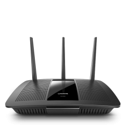 Linksys EA7500 :: Max-Stream™ AC1900 Dual-Band Wireless Router, с Roaming функция, Gigabit, 2.4+5.0 GHz, USB 3.0 + USB 2.0, MU-MIMO