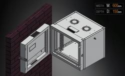 MIRSAN - Сървърни и комуникационни шкафове за стена