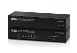 ATEN CE775 :: USB Dual View KVM екстендър, с Deskew функция, 1920x1080, RS-232, 300 м