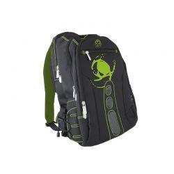 KEEP OUT BK7G :: Геймърска раница за лаптоп и аксесоари Pro Gaming BK7, черно-зелена