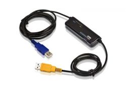 ATEN CS661 :: USB KVM превключвател за лаптоп, 2x 1