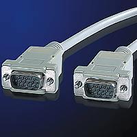 ROLINE 11.01.6618 :: VGA кабел HD15 M/M, 1.8 м