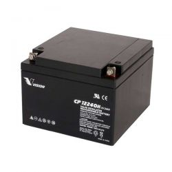 VISION 6FM24 :: Акумулаторна батерия, 12 V, 24 Ah