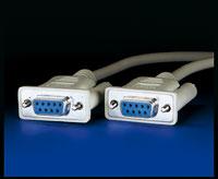 ROLINE 11.01.9018 :: AT-Link кабел, 1.8 м, D9F/F, нул-модем