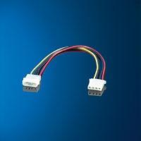 ROLINE 11.03.1007 :: ROLINE удължителен захранващ кабел с Molex накрайници