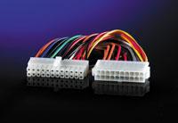 ROLINE 11.03.1017 :: ROLINE вътрешен адапторен захранващ кабел, 20-24 ATX