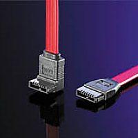 ROLINE 11.03.1556 :: ROLINE HDD кабел, SATA, ъглов, 0.5 м