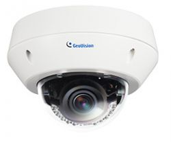 GEOVISION GV-EVD5100 :: IP камера, 5.0 MP, H.264, Low Lux, WDR, IR, Vandal Proof, Dome