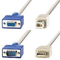VALUE 11.99.4692 :: KVM кабел HD15M+USB-A -- HD15F+USB-B, 1.8 м