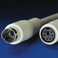 VALUE 11.99.5618 :: PS/2 M/F, 1.8 м, ATX, монолитен, удължителен кабел
