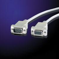 VALUE 11.99.6518 :: VGA кабел HD15 M/F, 1.8 м, 9 проводника, удължителен кабел