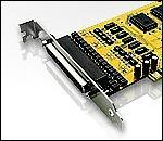 ATEN IC-424AP :: PCI RS-485/422 адаптер, 4-port, surge protection