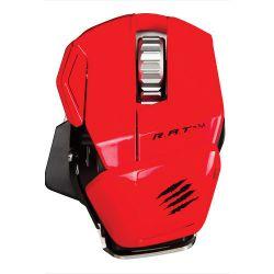 Mad Catz R.A.T. M-Red :: Мобилна геймърска мишка Cyborg R.A.T. М, Bluetooth, червена