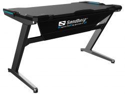 SANDBERG SNB-640-91 :: Геймърско бюро Sandberg Fighter, Сиво