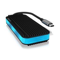 RAIDSONIC IB-1821ML-C31 :: USB Type-C™ кутия за M.2 NVMe SSD носители с RGB подсветка