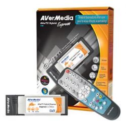 AVerMedia A577 :: ТВ тунер AVerTV Hybrid Express, ExpressCard