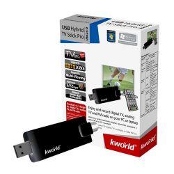 KWORLD UB424-D :: USB ТВ тунер Hybrid TV Stick Pro