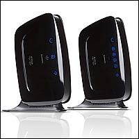 Linksys PLK300 :: Комплект Powerline устройства, 200 Mbps, HomePlug AV