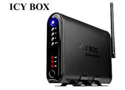 """Raidsonic IB-MP308HW-B :: Мултимедиен мрежов плейър с 3.5"""" гнездо за HDD, LAN, WLAN, USB 2.0"""