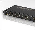 ATEN ACS1216A :: KVM превключвател, 16x 1, автом., OSD