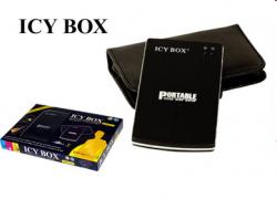 """Raidsonic IB-250U-B :: Външна кутия за 2.5"""" IDE HDD, компактен алуминиев корпус, USB 2.0 интерфейс"""