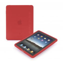 TUCANO IPDCS-R :: Silicone sleeve for Apple iPad, red