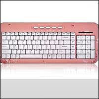 Saitek PK19Vpb :: Клавиатура Expressions Pink Butterfly