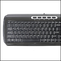 Saitek PK10 :: Клавиатура Ultra Slim Compact Keyboard, бяла