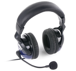 Saitek GH20 :: Слушалки с микрофон GH20 Vibration Headset