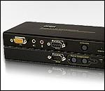 ATEN CE750L/R :: USB KVM екстендър, USB Mouse & Keyboard, 150 m, 1600x1200, Audio & RS-232 Peripherals support