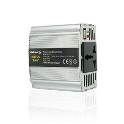 WHITENERGY WH06575 :: Инвертор за автомобил, 12V DC - 230V AC, 150 W, USB порт