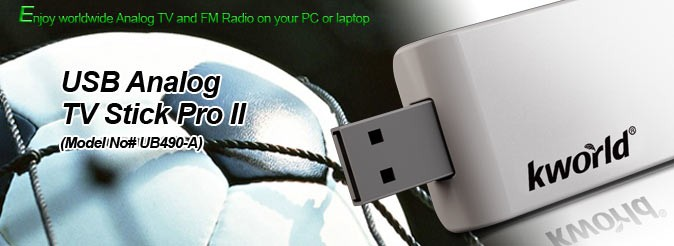 KWORLD USB ANALOG TV STICK PRO II WINDOWS 10 DRIVERS