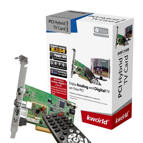 KWorld PE360-D TV Card Remote Control Driver PC