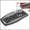 Trust 15036 :: Клавиатура Multimedia Scroll Keyboard, KB-2200