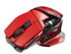 MadCatz M.O.U.S. 9-GLOSS RED :: Безжична геймърска мишка M.O.U.S. 9, Bluetooth, Gloss Red