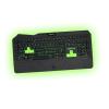 KEEP OUT F89CH :: Геймърска клавиатура, LED подсветка, 12 мултимедийни и 5 програмируеми клавиша