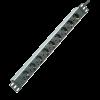"""ROLINE 19.07.1620 :: Разклонител PDU за 19"""" шкаф, 45°, 16A, алуминиев, сив, 2.0 м"""