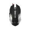 WHITE SHARK GM-1604BL :: Геймърска мишка Ceasar, 4800dpi, черна
