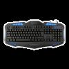 WHITE SHARK GK-1621B :: Геймърска клавиатура Shogun, синя подсветка